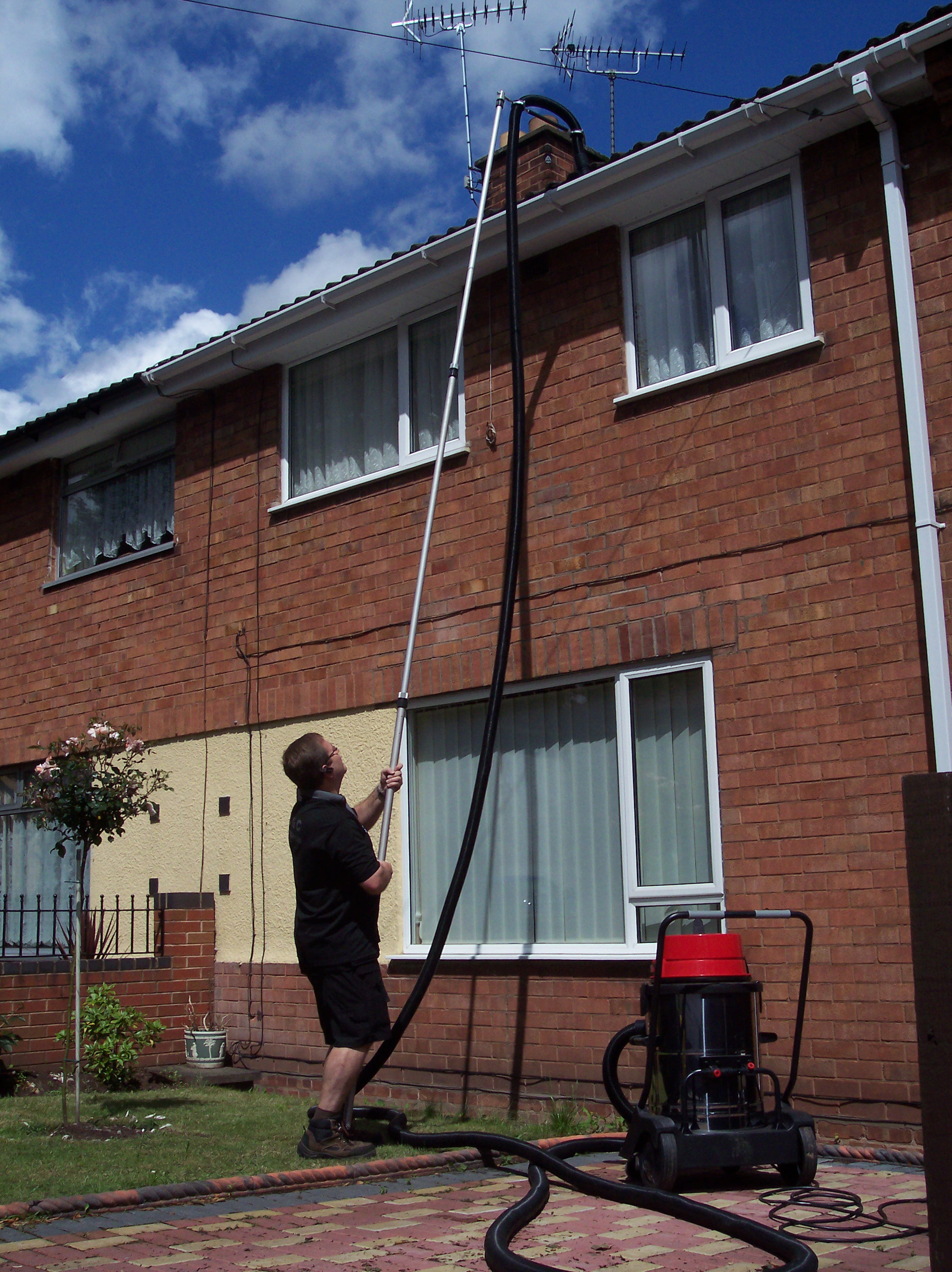 We Now Use A Gutter Vac System For Most Of Our Cleaning Work Allowing Us To Reach Gutters That Previously Were Unable